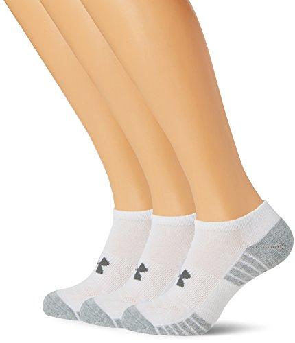 Under Armour Men Heat Gear Tech Noshow Socks (Pack of 3)