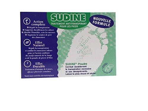 sorifa sudine polvere - trattamento contro l'eccessiva sudorazione dei piedi - confezione da 6bustine doppie