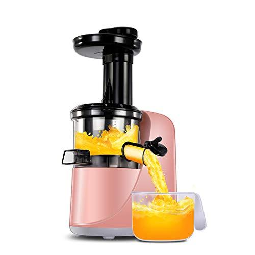 Entsafter JION Kaltpress, Langsamentsafter ohne BPA, Gemüse- und Obstprofi, leiser Motor, nährstoffreiche Obst- und Gemüsesaft-Saftdose und Reinigungsbürste