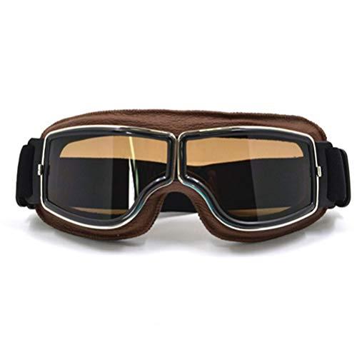 Unisex Harley Style Motorradbrille Kratzfest Explosionsgeschützt Winddicht Staubdicht Einstellbare Radsportbrille Ausrüstung
