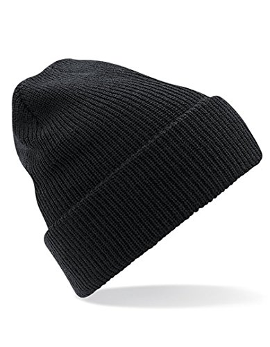 Heritage Beanie - Farbe: Black - Größe: One Size