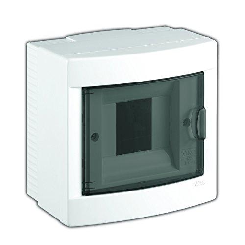 Aufputz Kleinverteiler 4 Module Sicherungskasten Verteilerkasten