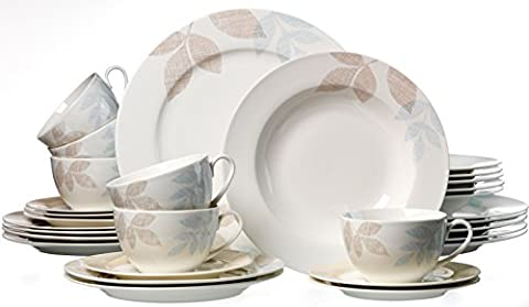 Ritzenhoff & Breker Kombiservice Cecilia aus Fine China Porzellan,