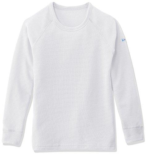 Odlo - Jersey de esquí infantil, color blanco, talla 104