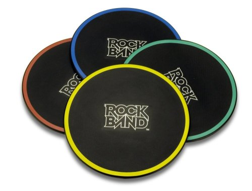 Rock Band Drum Pad Silencers für Playstation 3 - Band Rock Ps2