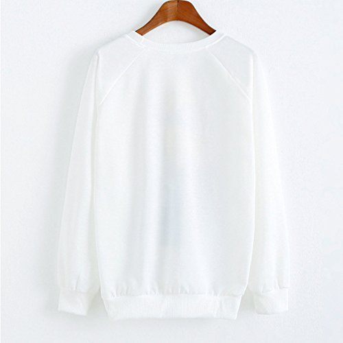 YICHUN Femme Fille Tops T-Shirts Tee-Shirts Camisole Impression Fin Pulls Sweat-shirts Sweaters Blouse Sweats Tunique Pull-over Motif 5#