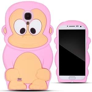 Zooky® rose SINGE silicone Coque / Étui / Cover pour Samsung Galaxy S4