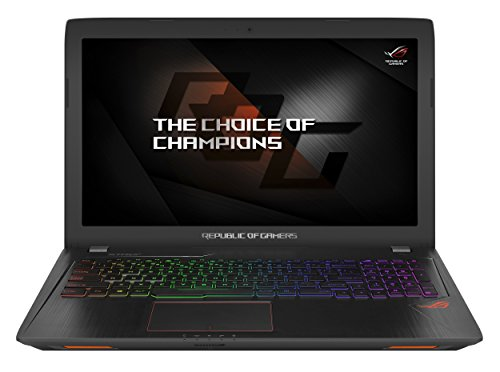 Asus GL553VE-FY127T 15.6-Inch Full HD Laptop (Core i7-7700HQ/16 GB DDR...