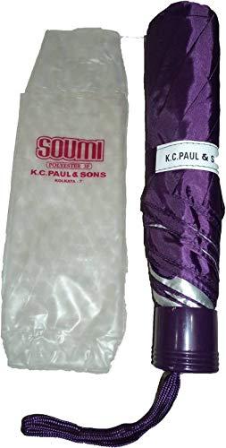 K.C.PAUL&SONS SOUMI 3 FOLD Purple