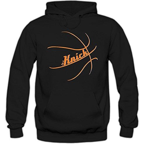 I'm a Knick #2 Hoodie |Basketball Hoodies | Streetball | USA | Kapuzenpullover, Farbe:Schwarz (Black F421);Größe:M (Dunk Anthony Carmelo Slam)