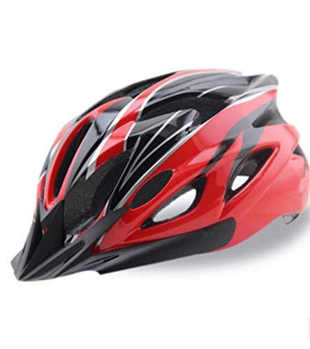Y-YT Fahrradhelm Fahrt mit Helm Fahrrad Mountainbike Auto Verkehrssicherheit atmungsaktive Kappe 54-63cm