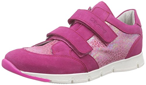Däumling - Jana - Julia, Scarpe da ginnastica Bambina Rosa (Pink (Turino ciclamino06))