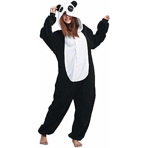 iKneu Unisex Kigurumi Pigiama Cosplay Costume Animale Halloween Biancheria Da