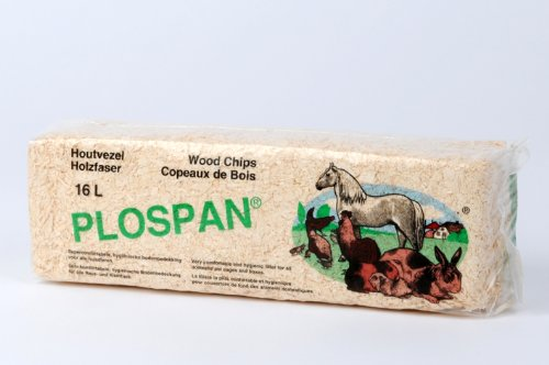 Holzstreu 16 Liter saubere Einstreu für alle Nager Hobelspäne…