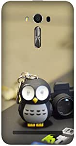Penguin with camera by Akhila Printed Back Cover Case For Asus ZENFONE 2 LASER ZE550KL