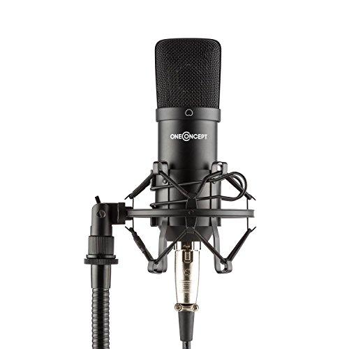 oneconcept-mic-700-studio-microphone-34mm-microphone-shock-mount-windscreen-xlr-black