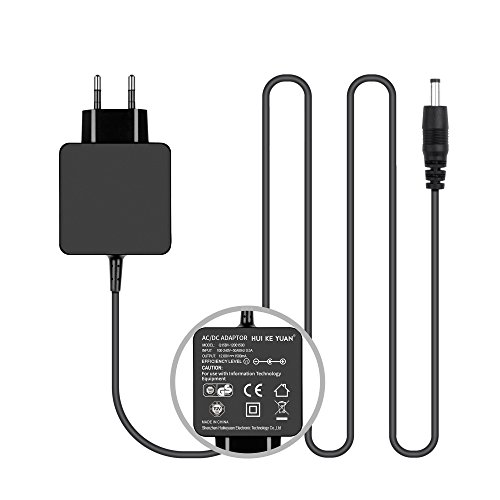 Preisvergleich Produktbild [TUV GS LISTED] HUIKEYUAN 12V Netzteil Transformator Lautsprecher Ladekabel für JBL Flip Wireless Bluetooth Speaker, JBL Flip 6132A-JBLFLIP Portable Speaker