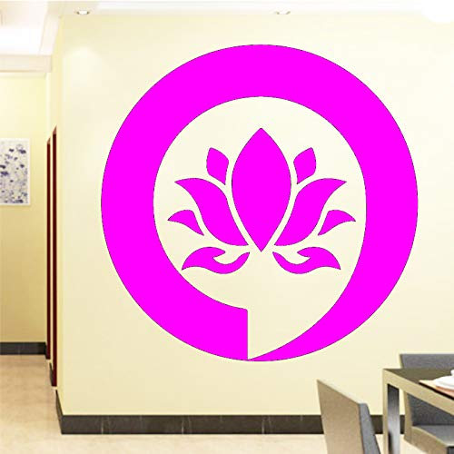 Ajcwhml Wandaufkleber Schlafzimmer Dekoration Blume Aufkleber Vinyl klebepaste Blume wanddekoration 30 cm x 29 cm
