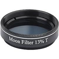 gosky telescopio 1. 25, 13% transmisión Filtro de luna (negro)