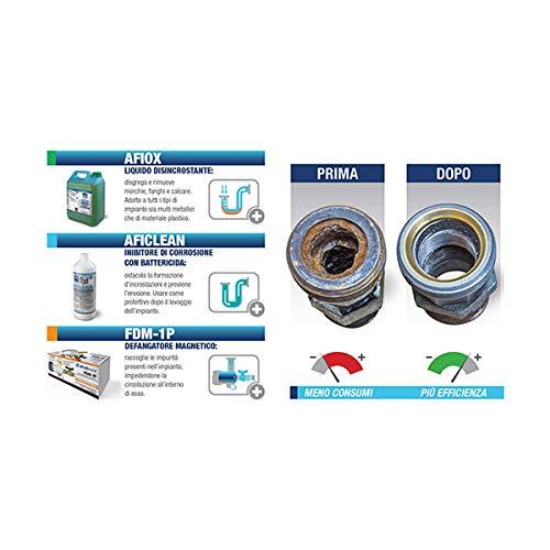 Boiler Cleaning Kit erneuert Atlas Filter 3 in 1 - spart Kessel enthält: 1 Schlammabscheiders Magnetic Entkalker + 1 + 1 Korrosionsinhibitor mit bakterizid -
