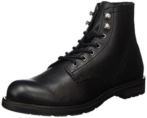 Shoe The Bear Herren Worker Kurzschaft Stiefel, Schwarz (Black), 44 EU