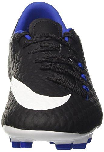 Nike Herren Hypervenom Phelon III FG Fußballschuhe Schwarz (Black/white-dark Grey-game Royal)