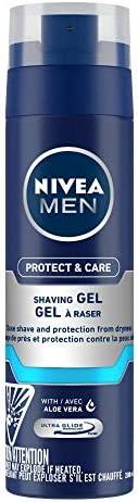 NIVEA MEN Shaving, Protect & Care Shaving Gel,