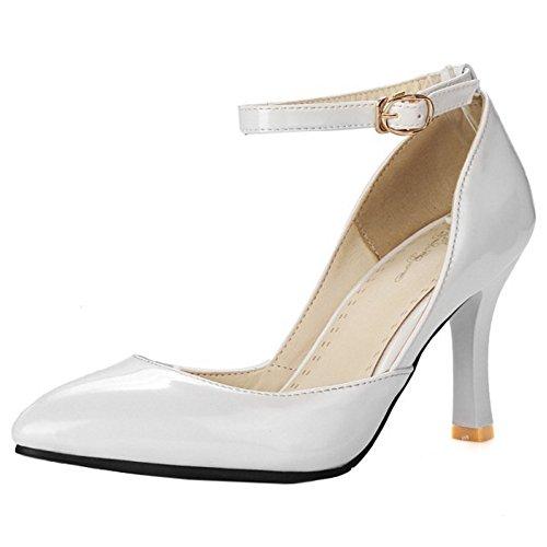 TAOFFEN Damen Mode Stiletto Pumps Schuhe