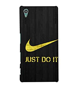 TOUCHNER (TN) Just Do It Back Case Cover for Sony Xperia Z5::Sony Xperia Z5 Dual::Sony Xperia Z5 Premium