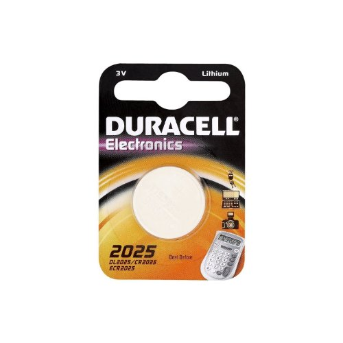Twin Pack- 2 x Duracell CR2025 DL2025 3v Lithium Knopfzelle Batterien