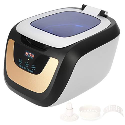 Ultraschallreiniger, Mehrzweck-Sterilisator 750ML mit digitalem Timer, der Reinigungsmaschine für Schmuck, Uhr, Brille Sonic Wave Manicure Nail Tattoo Metal Tool desinfiziert - Desinfiziert