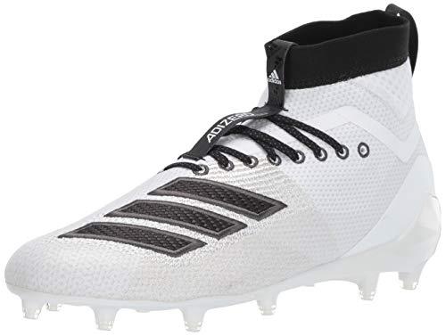 adidas Herren Adizero 8.0 SK Cleats, Weiá (Weiß/Schwarz/Grau), 50 EU - Männer Weiße Cleats