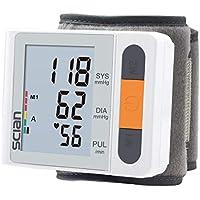 Monitor de presión arterial de muñeca - Compacto - 5 años de garantía, con carcasa
