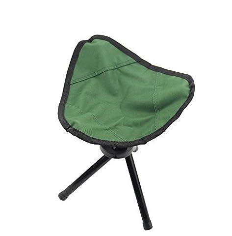 Lugii Cube trépied Pliant Flemmard Chaise portable Poids léger Pêche