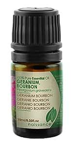 Olio di Geranio Bourbon - Olio Essenziale Puro al 100% - 10ml