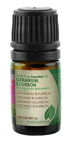 Naissance Geranie Bourbon 10ml 100% naturreines ätherisches Öl (Rose Geranie ätherisches öl)