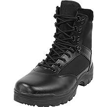 Herren Stiefel Leder Swat Boots mit Thinsulate Fütterung