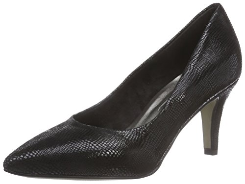 Tamaris - 22450, Pumps da donna Nero (Noir (black 001))
