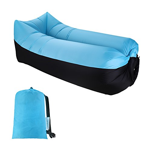 Sable Luftsofa Air Sofa Wasserdichtes aufblasbares Sofa mit Tragetasche, Optimales Luft Sofa Couch...