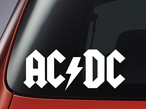 Vinyle - AC DC LOGO -, voiture, fenêtre, mur, autocollant pour ordinateur portable