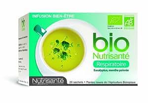 Nutrisanté Infusion Bio Respiratoire 20 Sachets