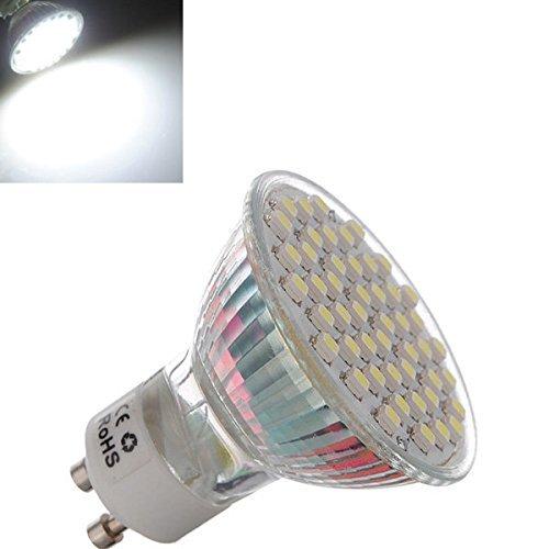 Bazaar Gu10 3w reines Weiß 48 3528 smd LED entdeckt downlight Zwiebel 195-240v ac