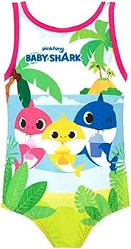 Pinkfong Bañador para Niña Baby Shark