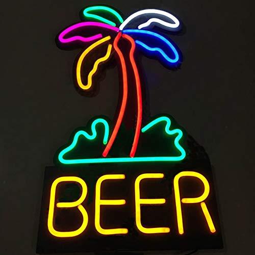 MOCHEN Geführte Bar Neonlichter,hängende Bar Verein Anzeigen Licht Super Helles Beschilderungs Werbungs Brett Elektronisches Anzeigen Zeichen Der Bar Led,45 * 80cm (Anzeige Brett)
