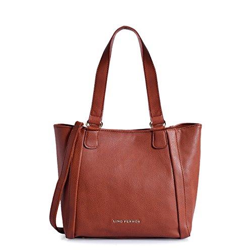 Lino Perros Women's Handbag (Brown) - B0794JD5BK