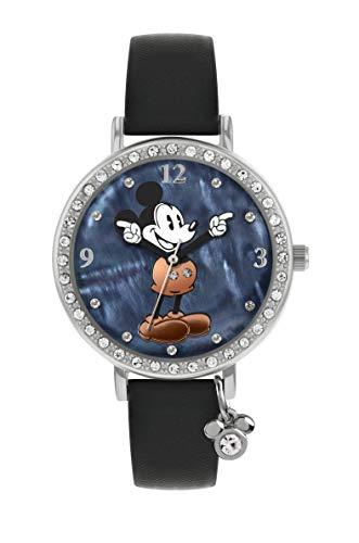 Disney MK5374 - Reloj de Pulsera para Mujer, diseño de Mickey con Piedras de Cristal