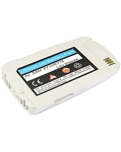 cellePhone PolarCell Akku Li-Ion für Samsung SGH-E710 E715 - silber ( ersetzt BST2069SE / BST2069DE )