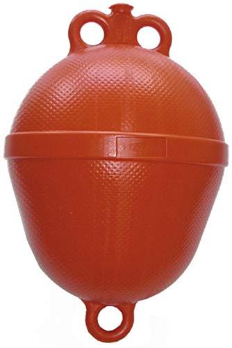 Navyline Polyethylen Mini Mooring Boje - 390 mm x Ø 250 mm, Farbe:rot