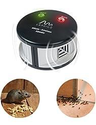 Gardigo DUO-TRAMPA PARA RATONES Y HORMIGAS contra lepisma en casas y zonas como el ático o en el sótano, hormigas, ratas y ratones