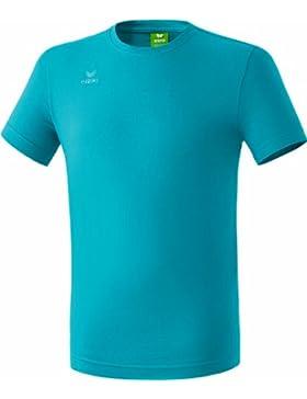 erima T-Shirt Teamsport - Camiseta de equipación de fútbol para niño, color azul petróleo, talla 15 años (164...